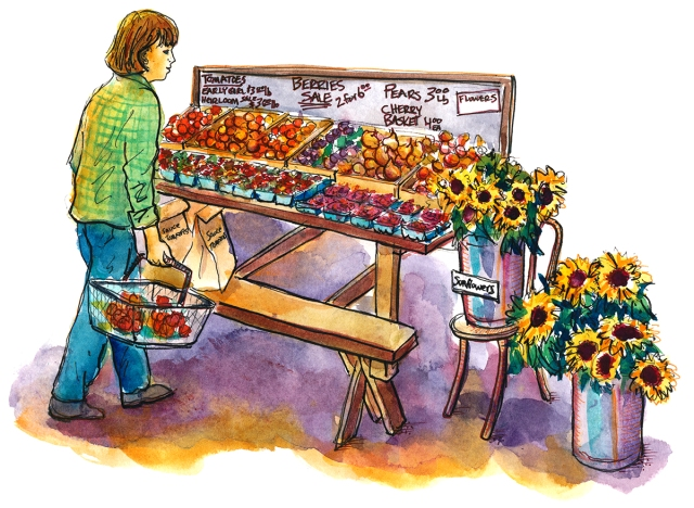 Oak Hill farm shopper_s